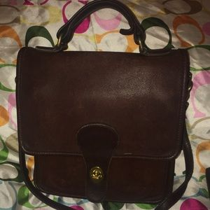 Vintage Coach Station Bag with Flaws B7C-5130